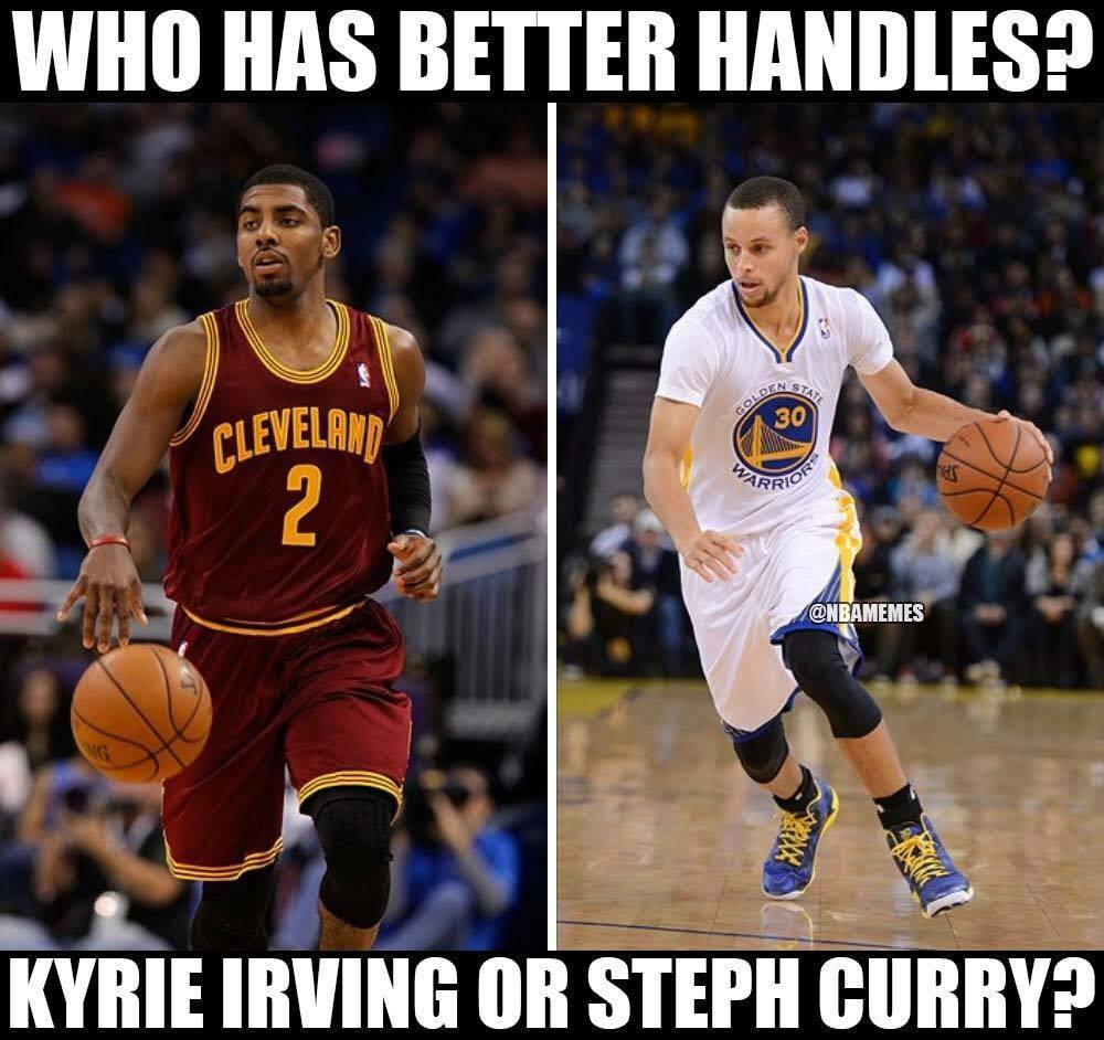 """Nba Stephen Curry: NBA Memes On Twitter: """"LIKE For Kyrie Irving. RETWEET For"""
