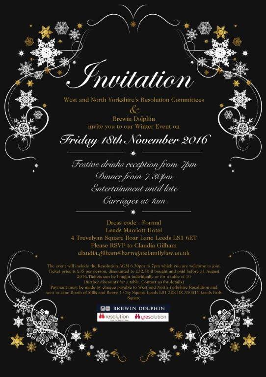 yres yorkshire on twitter our winter ball invite is now out we