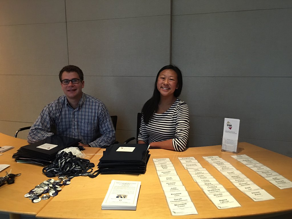 Registration desk is open! #CUEmtg16 https://t.co/qYhq4n2s6t