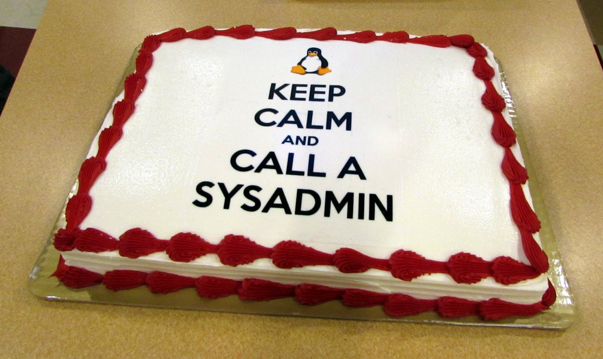 Happy System Administrator Appreciation Day to you all! #SysAdminDay https://t.co/27DePOPivi