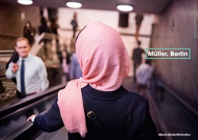 Müller, Berlin. #BerlinBleibtWeltoffen