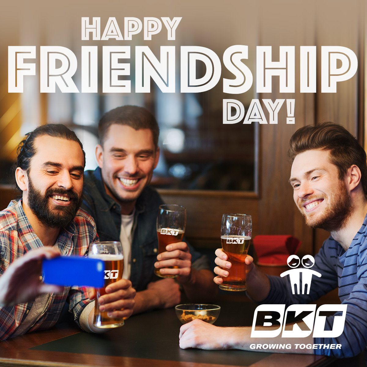 That's the perfect day to celebrate #friends you're #GrowingTogether with. Happy #FriendshipDay! #July30th https://t.co/Q5DZghFN3e
