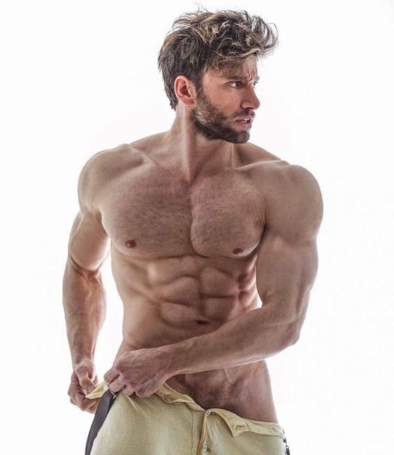 Muscular man gay