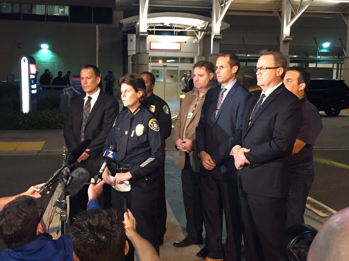 Police Officers Shot In San Diego