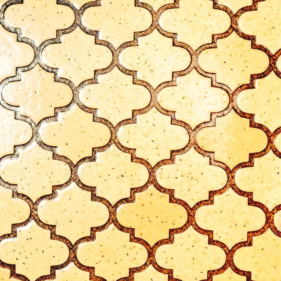 祖母宅のお風呂の床の柄がモロッカン柄という情報を聞いて、この柄に名前あったんだなと思う夏の夜。知らなかった。