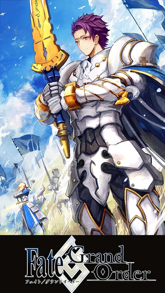 White 無気力 V Twitter 続いて円卓の騎士のランスロット