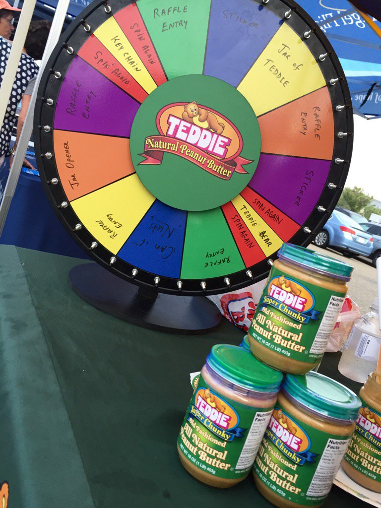 Spin the @teddiepeanut wheel and see what you win! Lots of fun prizes here at our Zip Trip in Scituate!