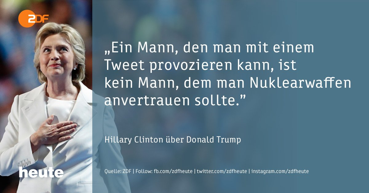 #Clinton contra #Trump: Das Duell um die US-Präsidentschaft ist eröffnet. https://t.co/LhiGeIY1JA #USWahl2016 #USA