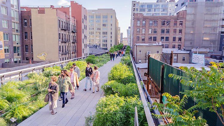 A food walking tour with the 17 best spots on the High Line