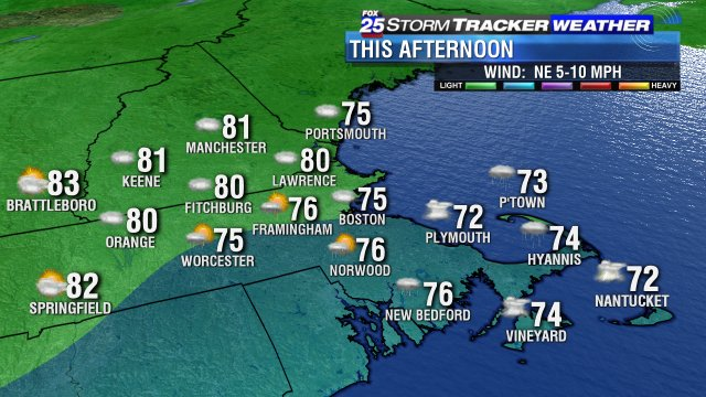 A humid, cloudy, foggy & WET Friday for most.Remeber-rain is GOOD-we're in a drought fox25