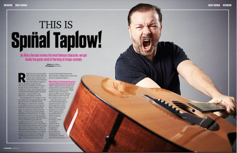 RT @TotalGuitar: #BrentsBack@rickygervais talks guitars and the @DavidBrentMovie in our new issue, out now. https://t.co/bxYHc39QHR https:/…
