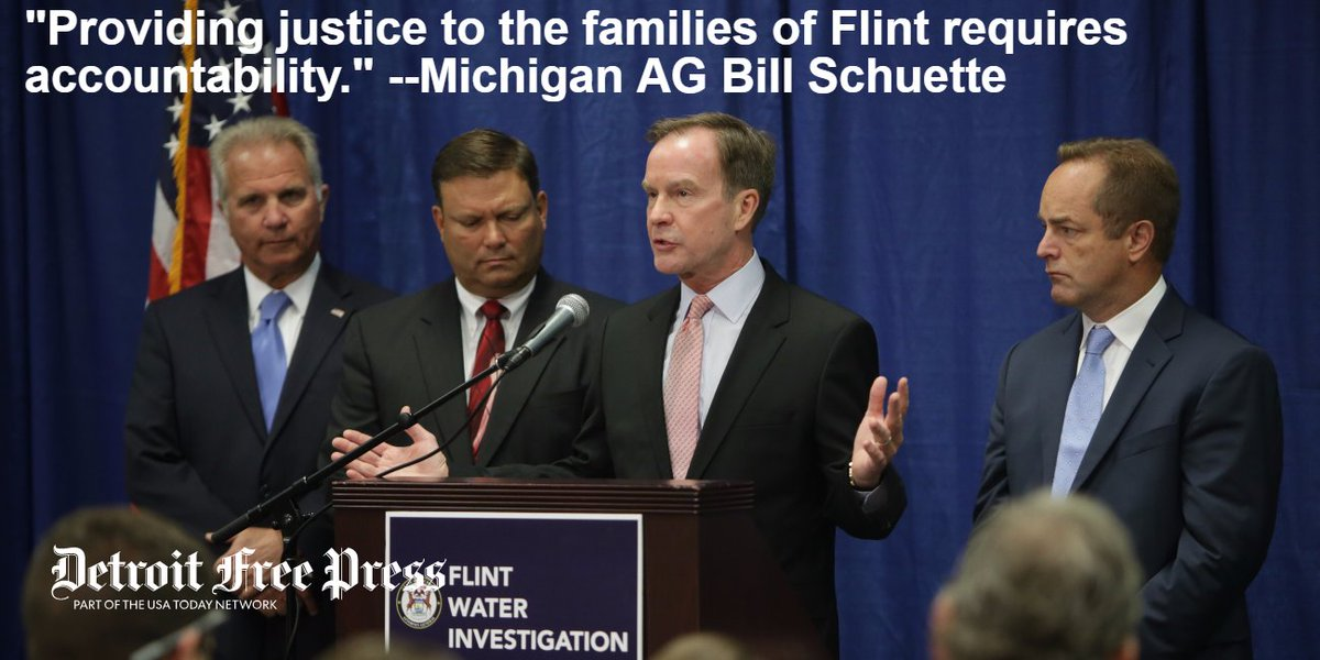 Six more state employees charged in the FlintWaterCrisis