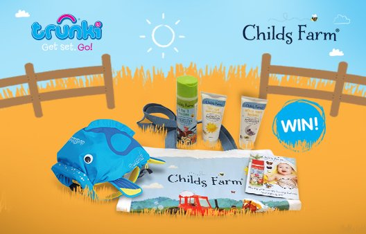 #FreebieFriday #Win child's holiday essentials. To enter RT and follow @Trunki and @ChildsFarm by 5th Aug :) https://t.co/hipXKjoi7E