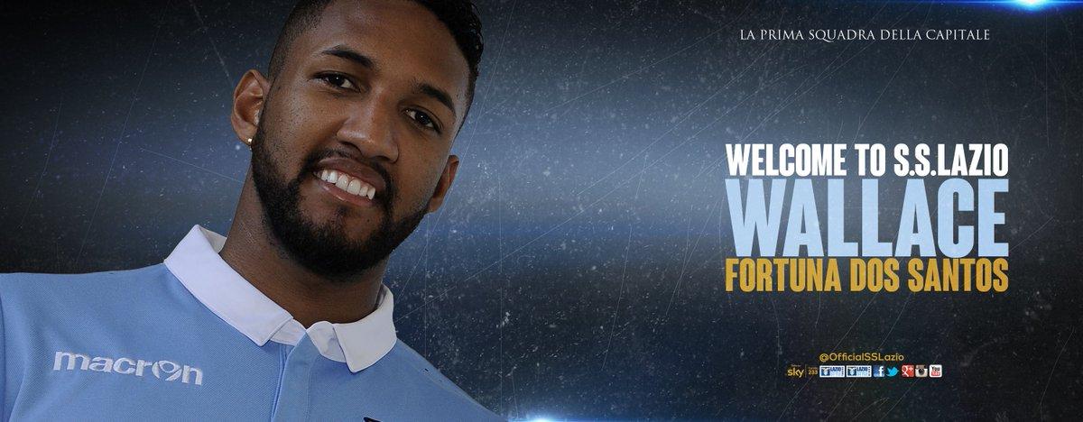 A brazil védő Wallace a Lazioban folytatja!