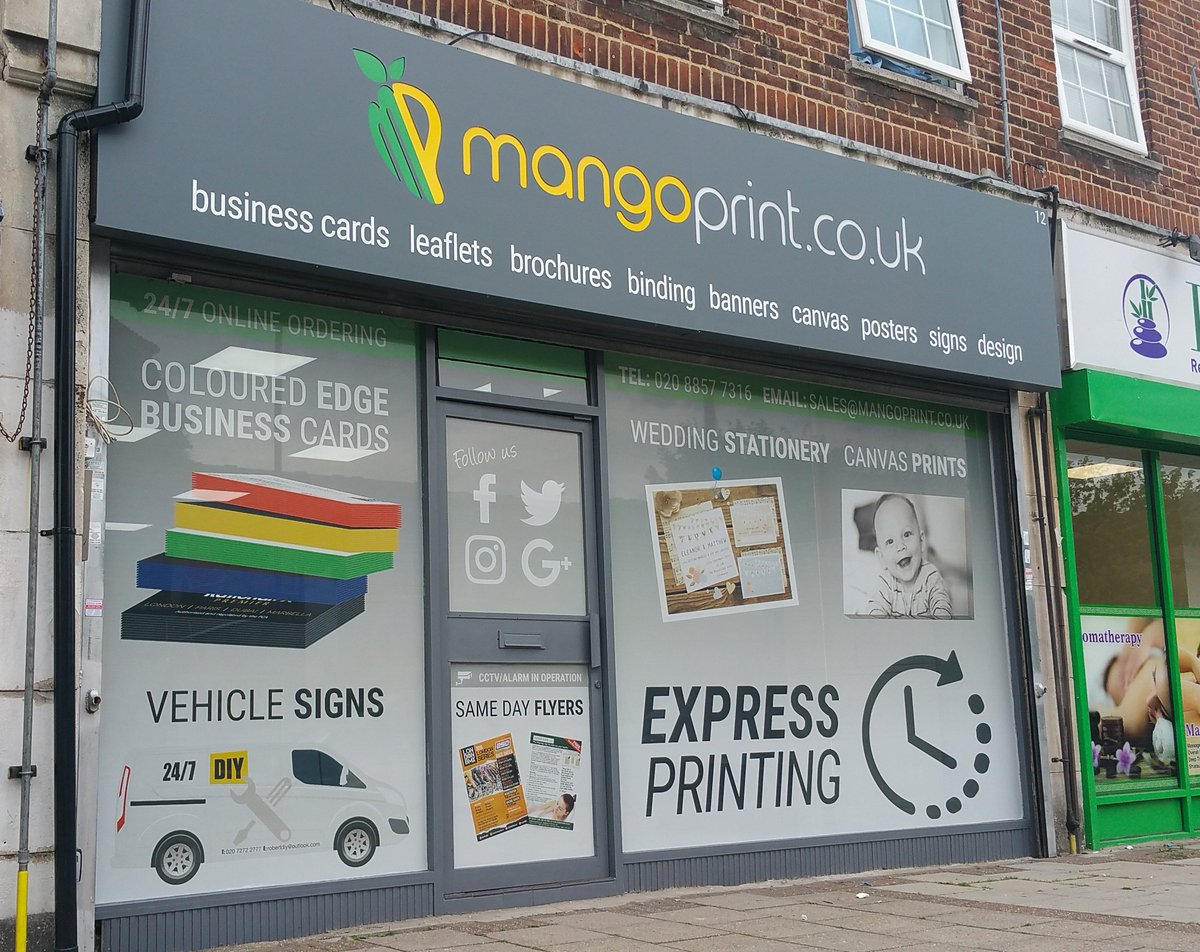 Mangoprint on twitter our new shop front in south london signs mangoprint on twitter our new shop front in south london signs print printing graphics reheart Image collections