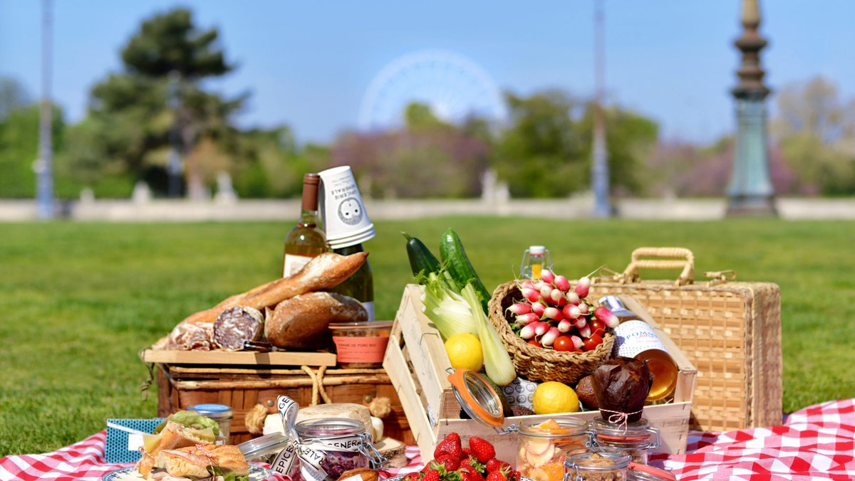 достойная картинка пикник в парке изготовления