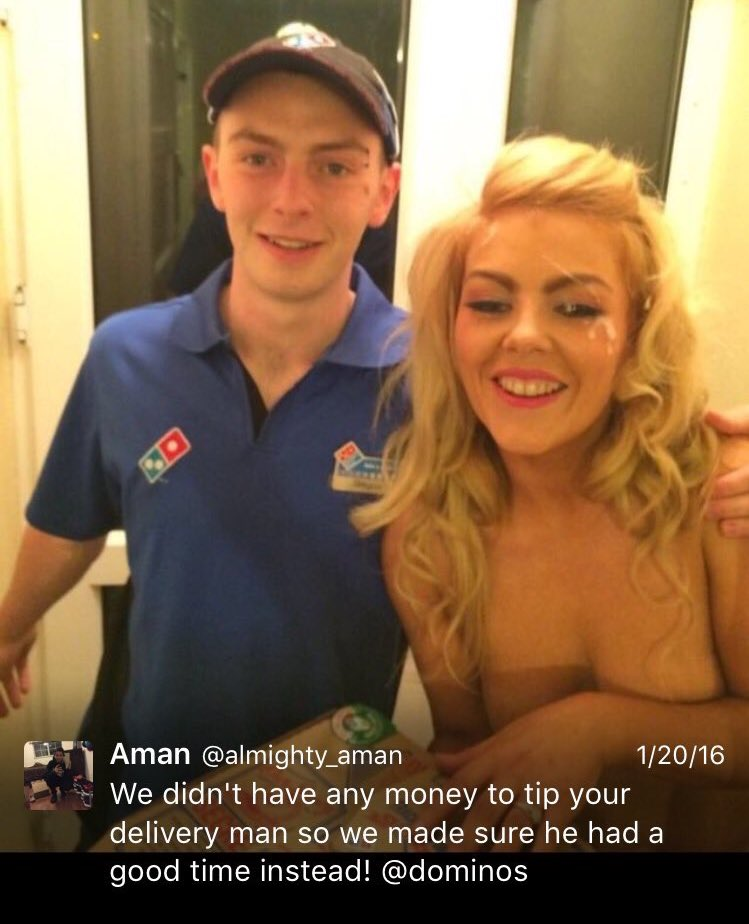 Pizza Delivery On Webcam New