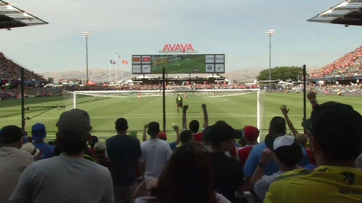 Soccer fans pack Avaya Stadium in San Jose for MLSAllStar game against England's Arsenal
