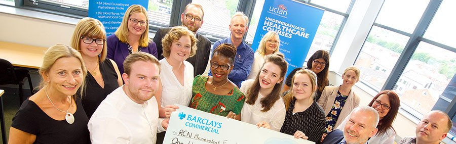 @UCLanNurses raise vital funds for @RCNFoundation seventh year in a row https://t.co/dElsY6Xk9A @UCLanHealth https://t.co/KkqYsy1nXH