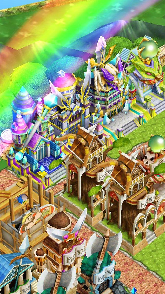 【白猫】タウンが夏仕様にリニューアル!夜の祭り囃子などBGMが変更、新デコレーションも登場!【プロジェクト】