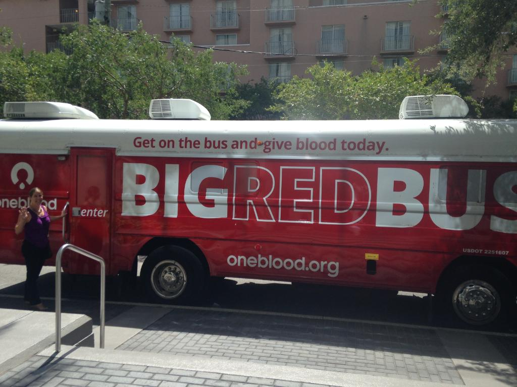 Florida blue on twitter our tampa team gave the gift of life florida blue on twitter our tampa team gave the gift of life yesterday as the bigredbus visited bluegivesblood negle Choice Image