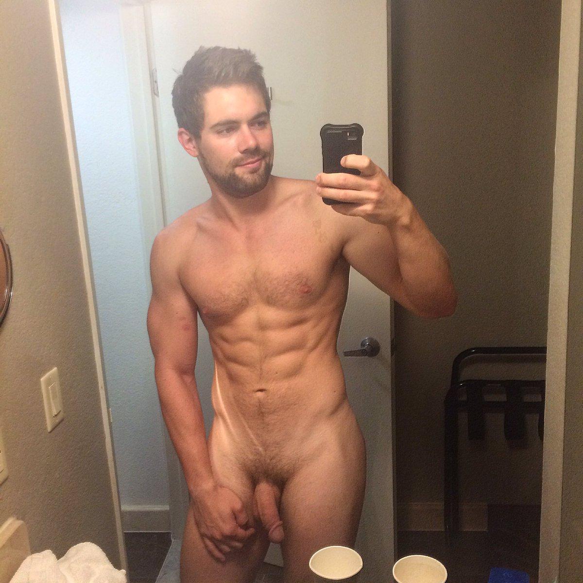 Hunk cute shirtless photo masturbate sweaty