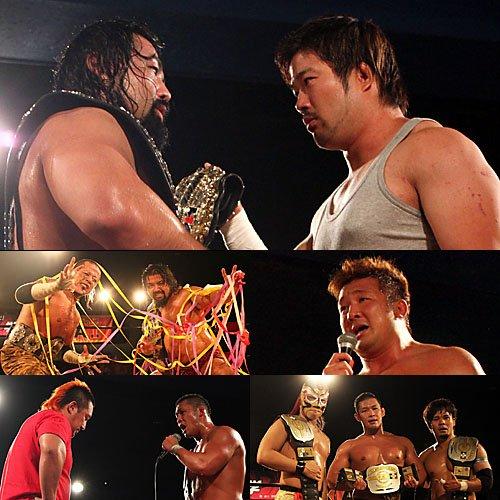 """W-1: Resultados """"Wrestle-1 Tour 2015 Symbol"""" - 29/07/2016 - 2 Títulos en juego 2"""