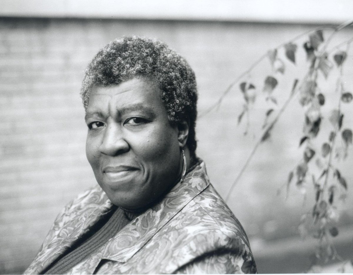 The first sci-fi author to win a MacArthur Genius Grant: OCTAVIA. BUTLER. #BlackWomenDidThat https://t.co/bAuAtKnhDW https://t.co/ljS7sjmJtd
