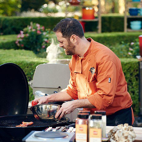 Spoiler alert! @tapandtrotter chef @tmaws is a 'Chopped Grill Masters' finalist