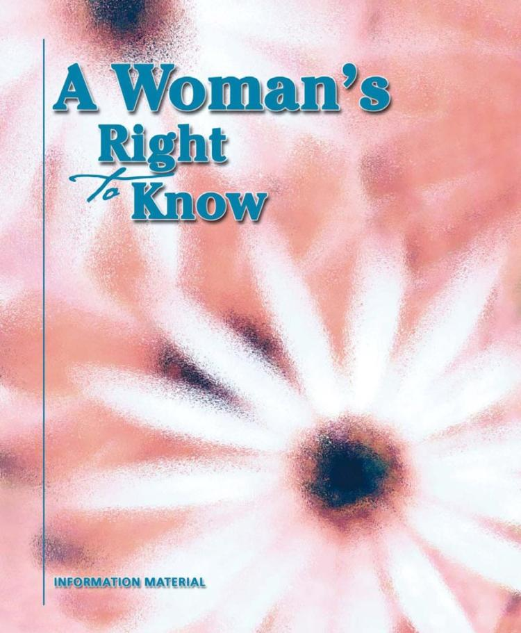 REALLY? Texas booklet tells women abortion is linked to cancer, mental health issues