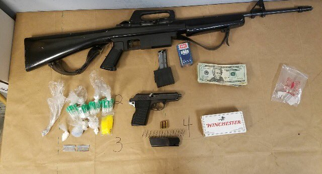 Northwest District Detectives Search and Seizure Arrest