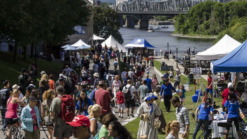 Celebrate the creation of the Rideau Canal & Bytown July 30-Aug 1 with Bytown Days around the @BytownMuseum.