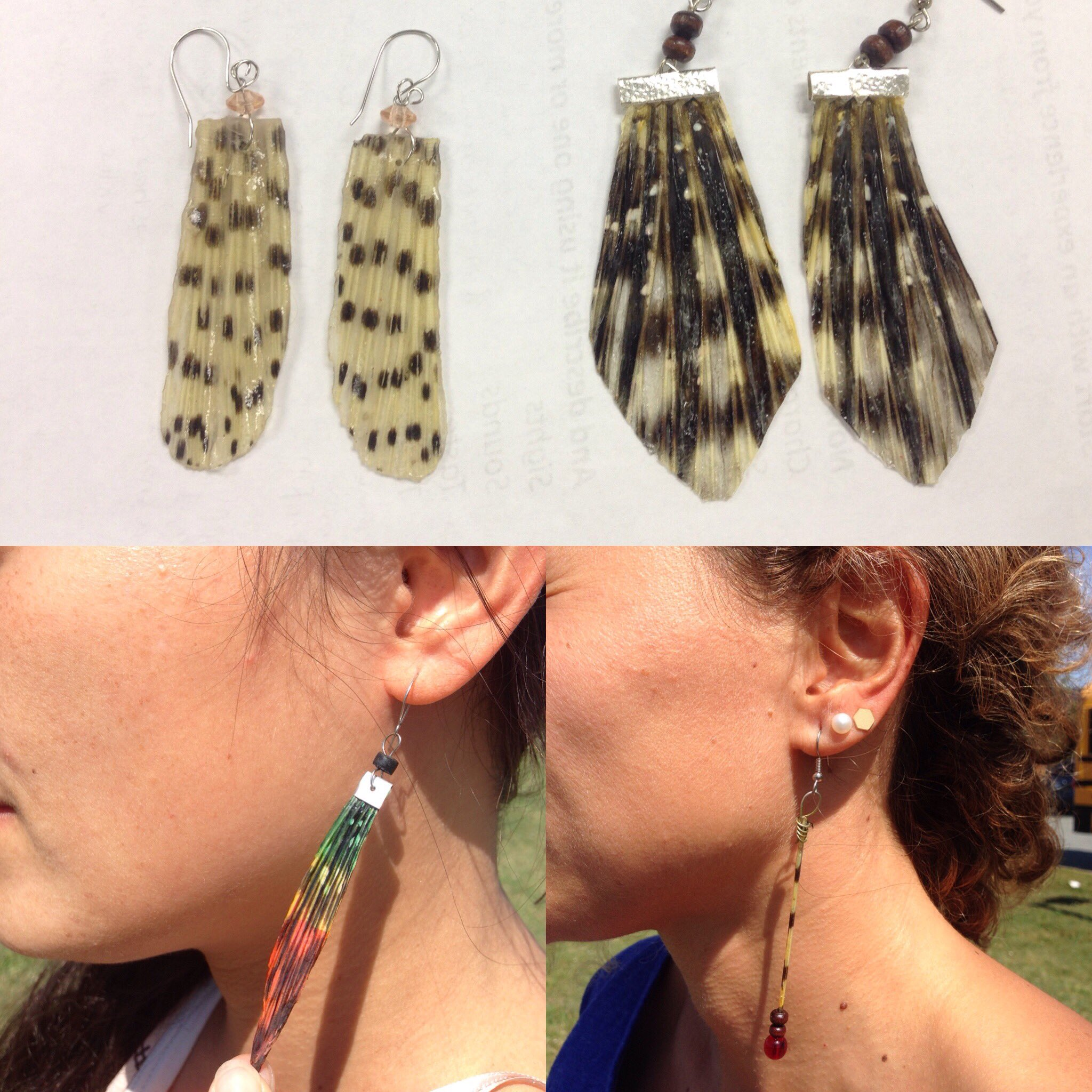Thnks @pkarp24 for introducing me to these #lionfish  earrings from Belize during your story at #imccstories #imcc4 https://t.co/6LVXYeGWb3