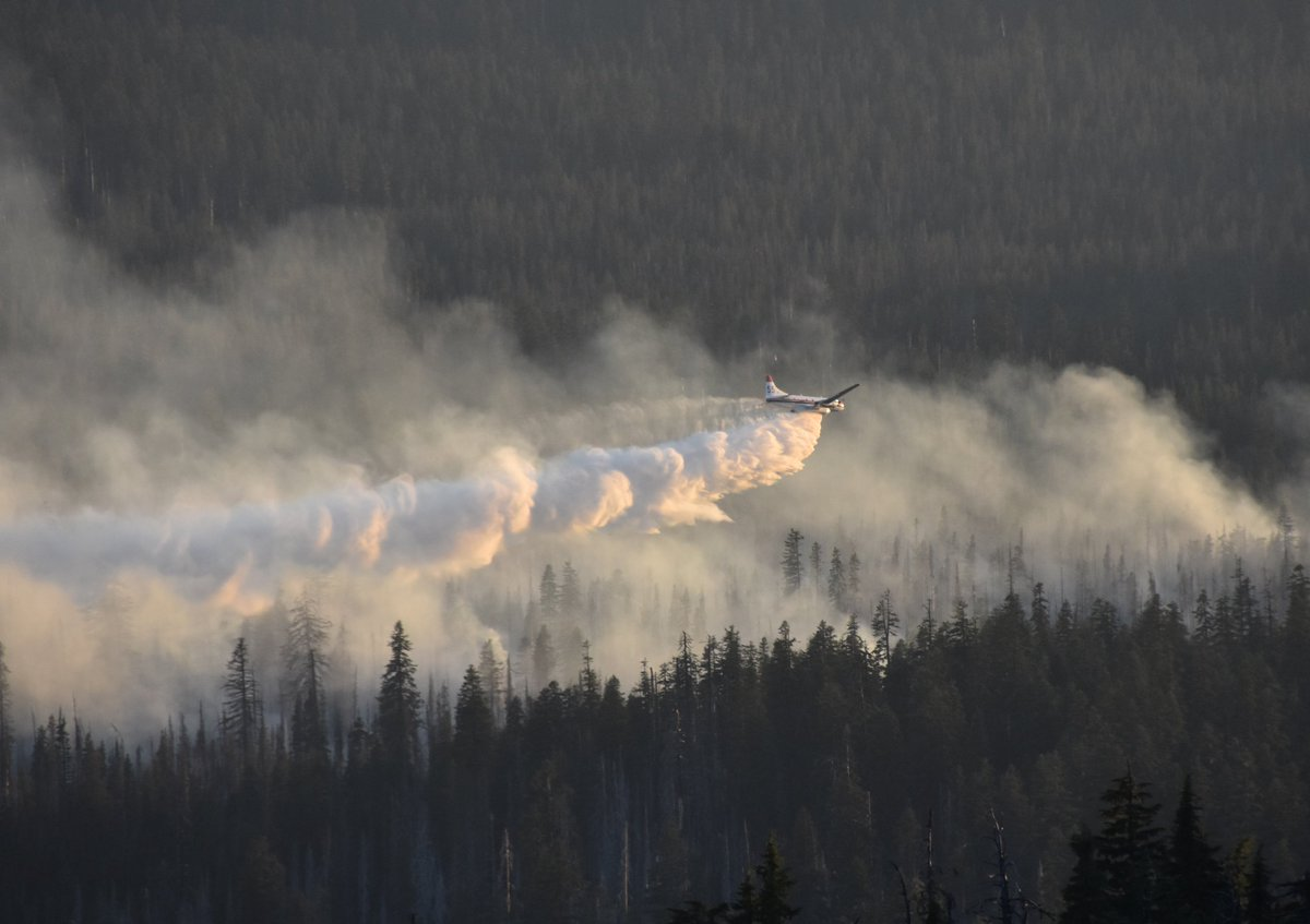 Bybee Fire burning in Crater Lake National Park closes stretch of Pacific Crest Trail Info