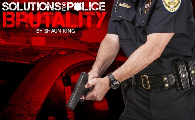 @ShaunKing: Police officers should be required to have a college degree