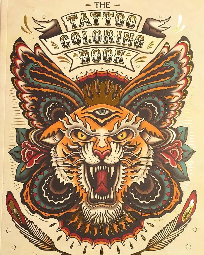 The tattoo coloring book megamunden - 0 Replies 1 Retweet 2 Likes