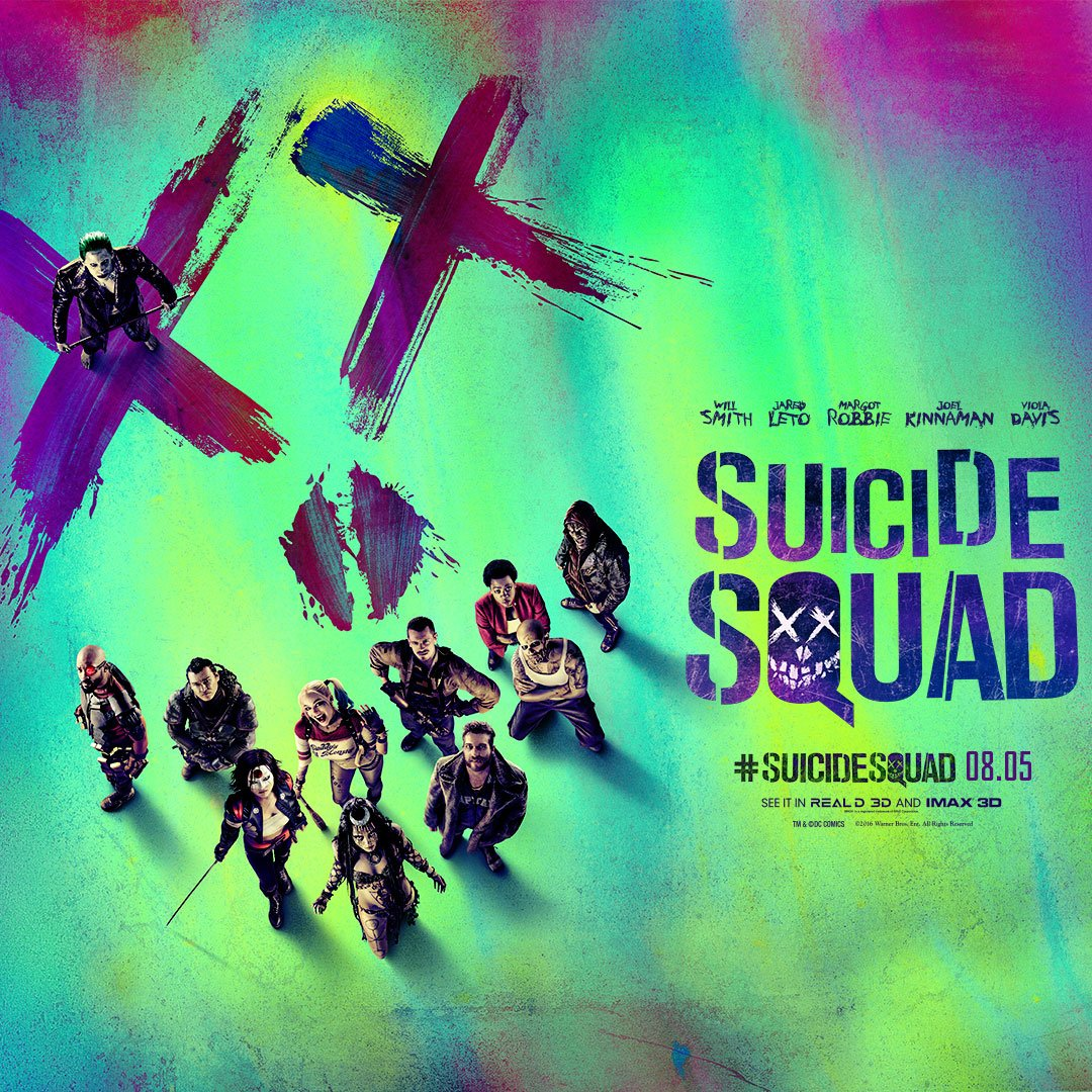 You could win advance screening passes to #SuicideSquad on August 3. RT to enter! See it in theatres August 5! https://t.co/P3YhorSqwy
