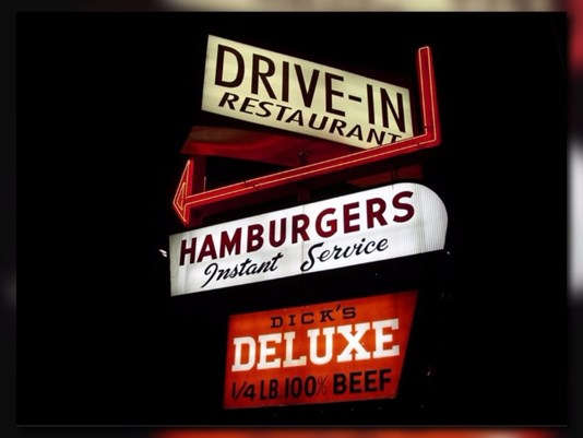 Iconic Dick's Drive-In to accept debit and credit cards