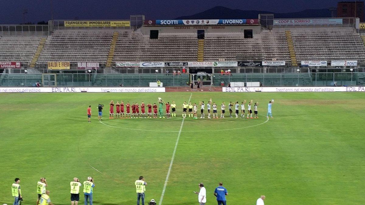 Livorno-Juve Stabia 1-3, risultato a sorpresa in Coppa Italia