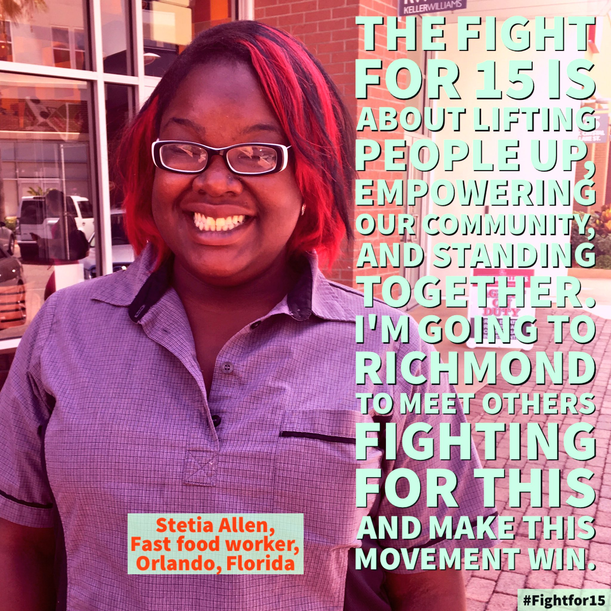 We'll join Stetia at the #FightFor15 National Convention to empower our communities https://t.co/1UmEtBEKRW https://t.co/tKuSFMUZpt
