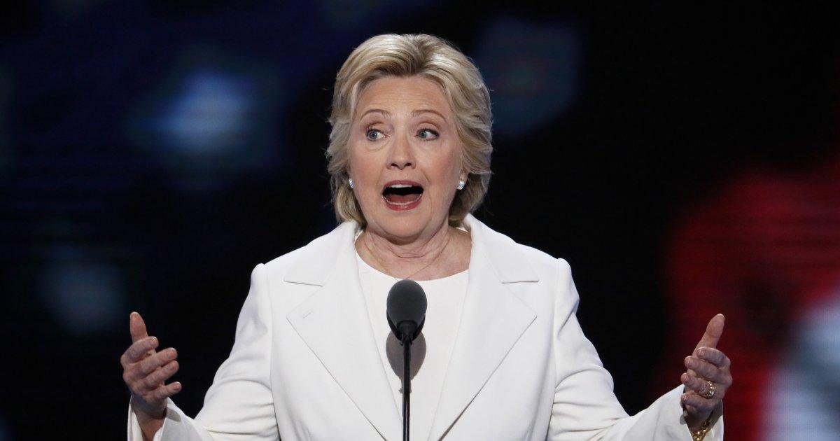 TURN HER  UP: Hillary's speech was filled with song lyrics — including @LilTunechi's