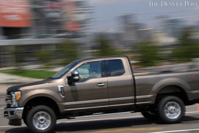 Ford unveils new F-series Super Duty in Denver, where truck industry is up 10 percent