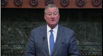 Mayor Kenney says he talked to Sec. Hillary Clinton today and she told him,