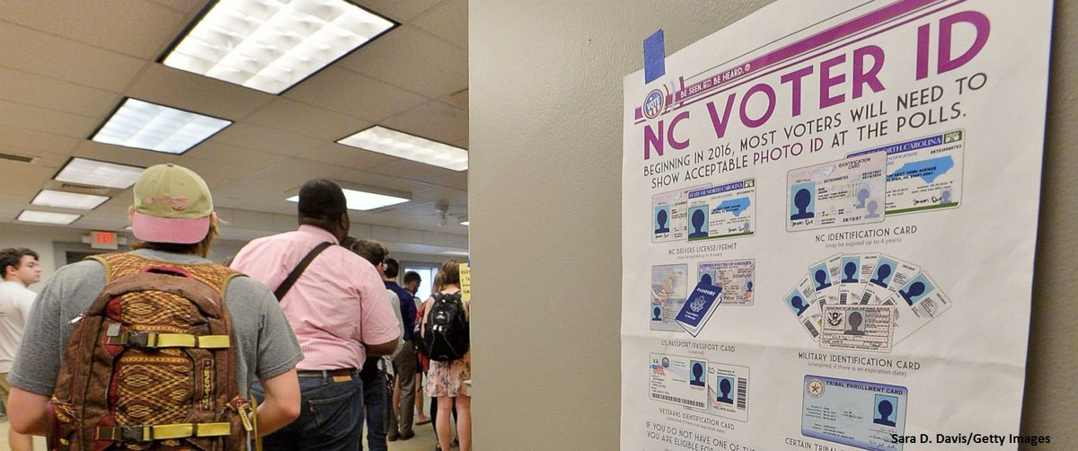 Controversial North Carolina voter ID law struck down by federal appeals court