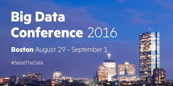 Big Data Conference 2016