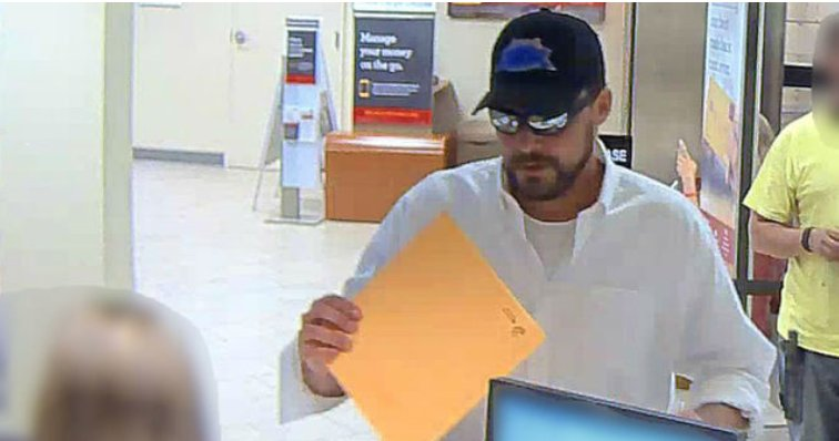 Man accused of robbing Gainesville bank sought -