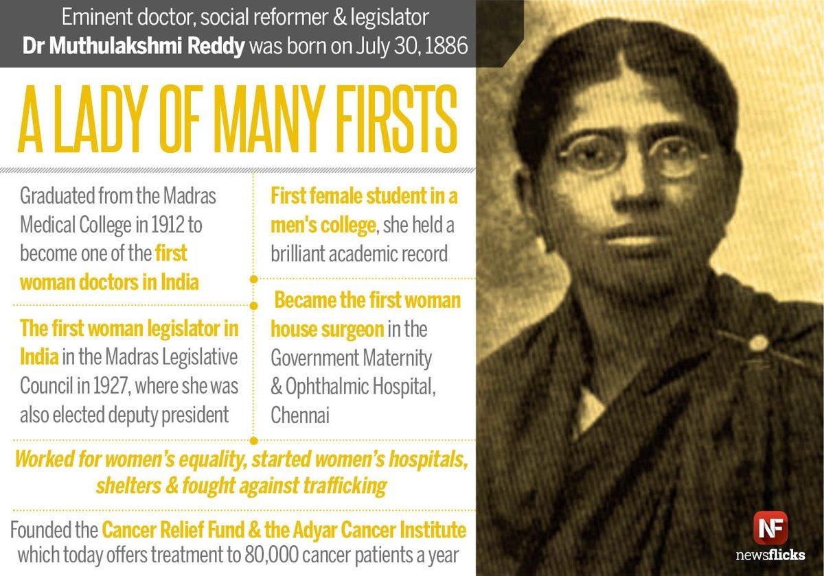 dr muthulakshmi reddy biography of barack