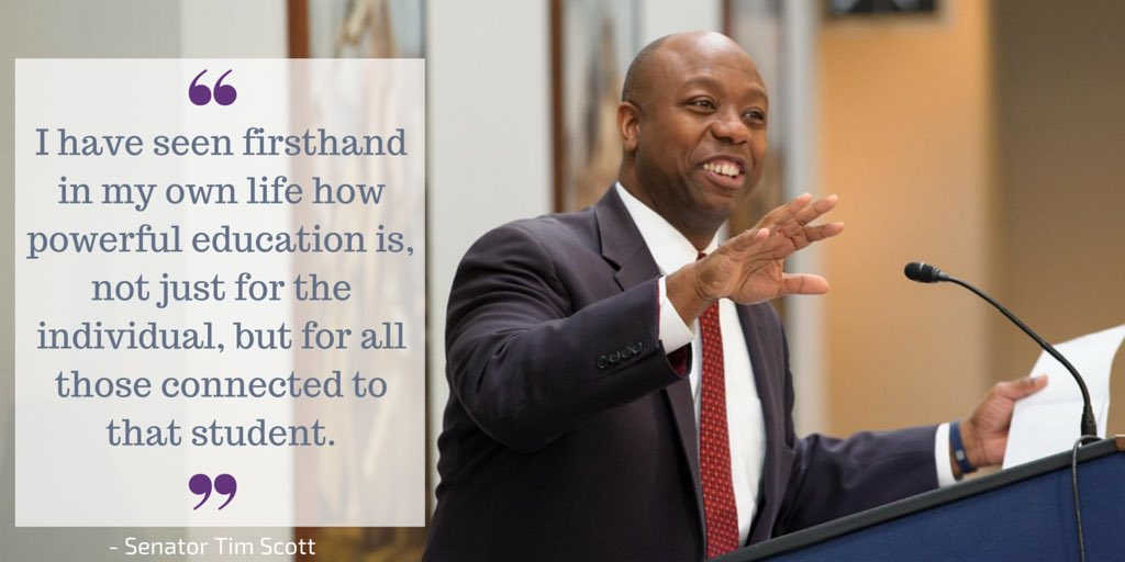 As someone who grew up poor, I believe that education through #schoolchoice can truly create opportunities for all. https://t.co/WbTrSePYSw