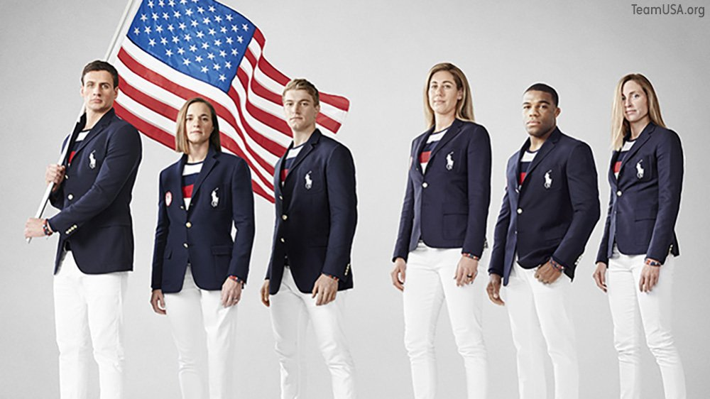 Team USA has unveiled their 2016 uniforms. Here's look back at previous uniforms.