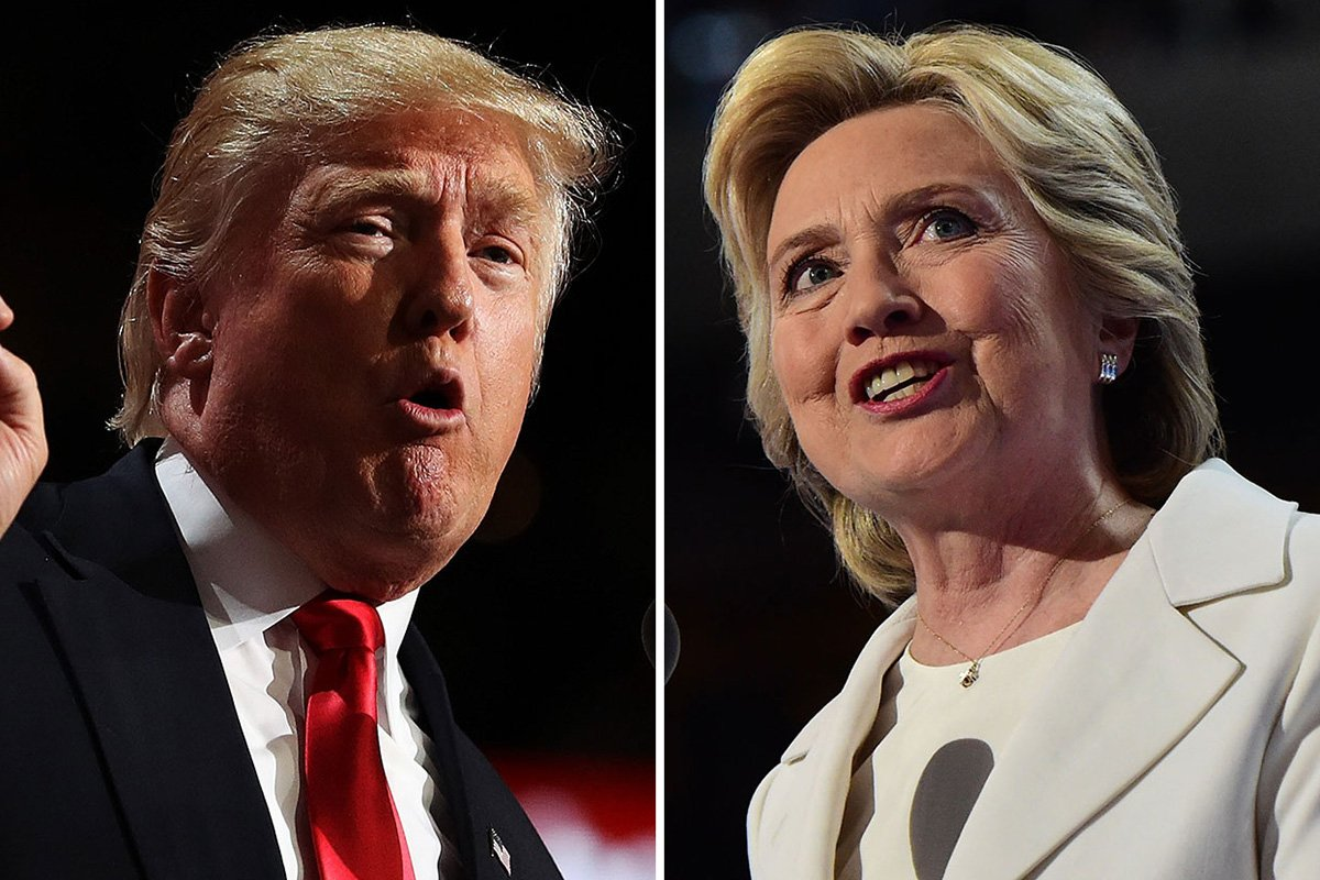 Who had more attacks in their convention speech, Trump or Clinton?